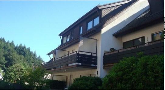Уютная квартира над крышами курортного Бад-Херренальба!