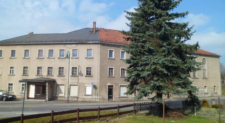 Трехэтажное здание в г. Буркау