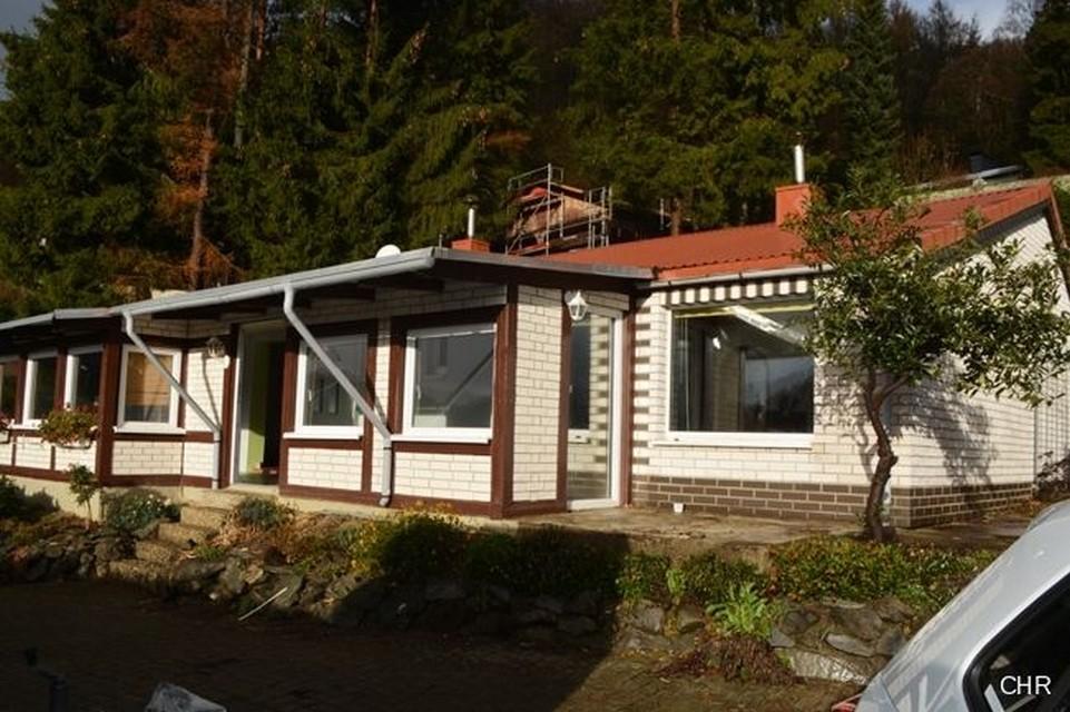 Отдельностоящий дом/бунгало с прекрасным видом на Гарц.