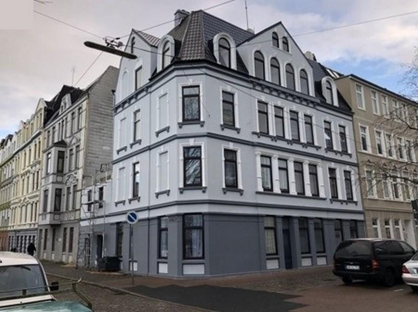 Многоквартирный дом в Бремерхафене.